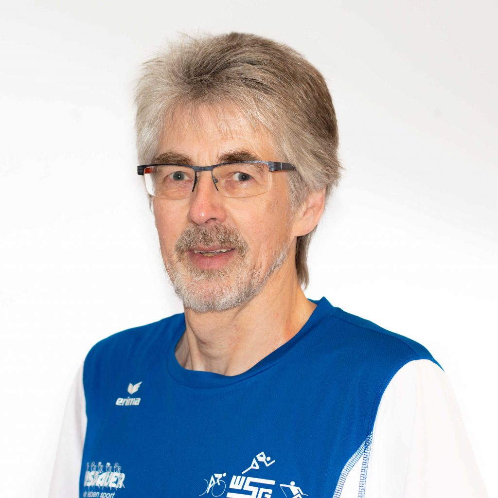 Roland Schütz Fachwart Wettkampfsport, Pressewart